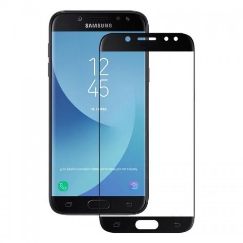 Tempered Glass for Samsung J7 (2017) Black