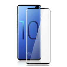 Tempered Glass for Samsung S10 Black