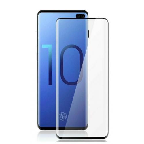 Tempered Glass for Samsung S10 Black