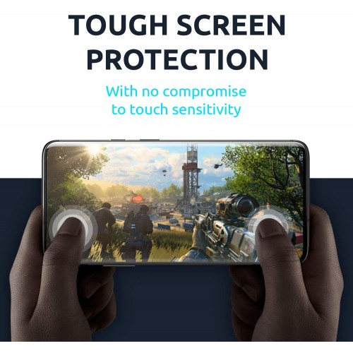 Tempered Glass for Samsung S10e Black