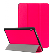 Folio Shockproof Protective Case For iPad 9.7 (2017) Hot Pink