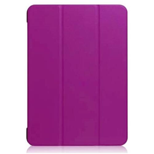 Folio Ultra Thin Leather Smart Case Cover For Apple iPad 9.7 (2017) Purple