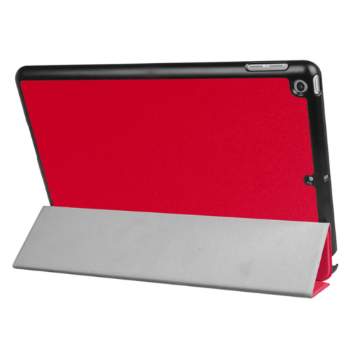 Folio Ultra Thin Leather Smart Case Cover For Apple iPad 9.7 (2017) Red