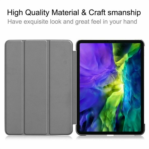Premium Smart Book Stand Cover For Apple iPad Pro 11 (2020) Blue