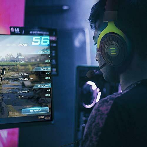 EKSA E900  Wired Gaming Headphone Green