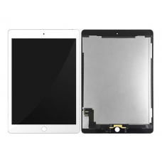 For iPad 6 Replacement Touch Screen Digitiser With LCD Assembly White