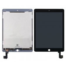For iPad 7 Replacement Touch Screen Digitiser With LCD Assembly Black