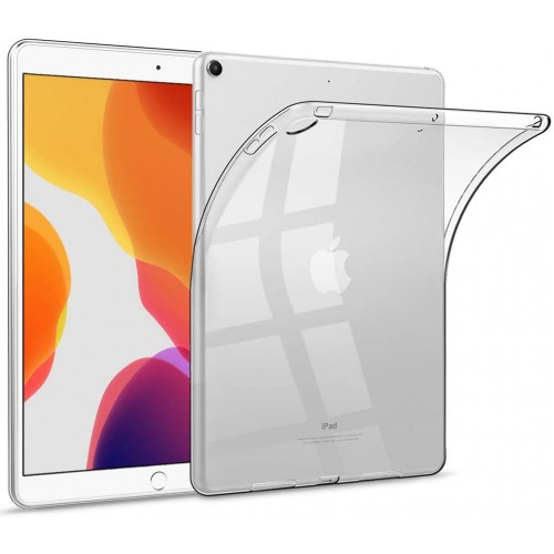 Clear TPU Silicone Cover Case For iPad Pro 10.2'' (2019)