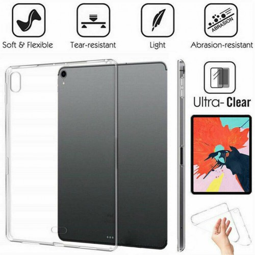 """Clear TPU Silicone Cover Case For iPad Air 4th Gen 10.9"""" (2020)"""