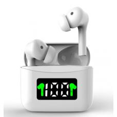 TWS Bluetooth Earphone For J5 White