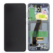 Samsung Galaxy S20 G980F G981F Service Pack Screen - Grey