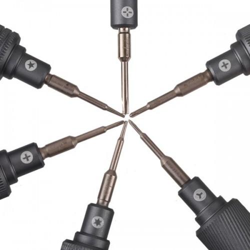 MECHANIC Mortar Mini iShell Max 6 in 1 Phone Repair Precision Screwdriver Set