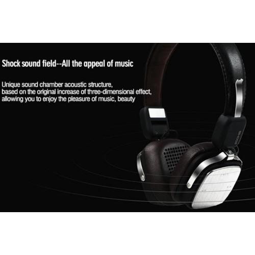 REMAX RB-200HB Wireless Bluetooth4.1 Headphone Black