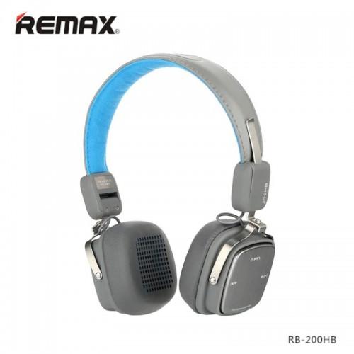 REMAX RB-200HB Wireless Bluetooth4.1 Headphone Blue Grey