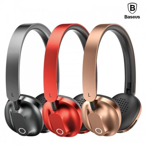 Baseus Headphone Bluetooth Encok D01 Wireless Blush Gold
