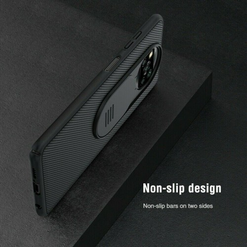 Nillkin Camshield Pro Case For iPhone Xiaomi Poco X3 NFC/ X3 Pro Black