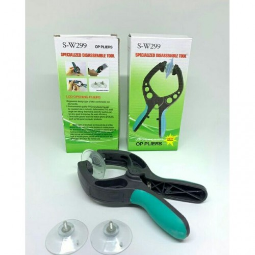 S-W299 Mobile Phone LCD Screen Opening Pliers Suction Cup for iPhone iPad Samsung Cell Phone Repair Tool