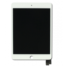iPad Mini 5 Replacement Touch Screen Digitiser With LCD Assembly White