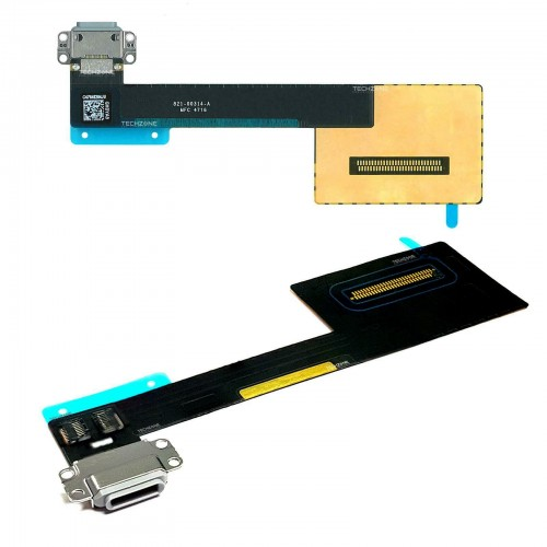 For iPad Pro 9.7'' Charging Port Dock Connector Flex Cable Replacement White