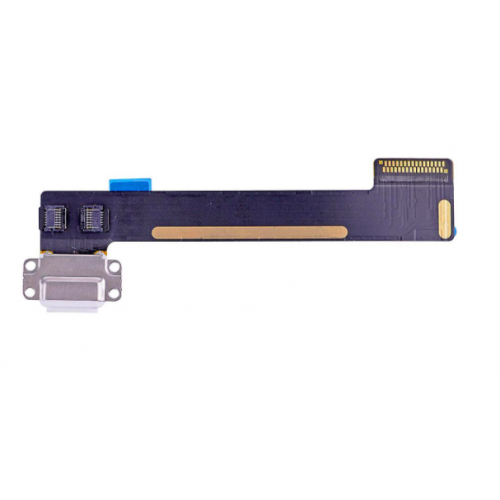 For iPad Mini 4/5 Charging Port Dock Connector Flex Cable Replacement White