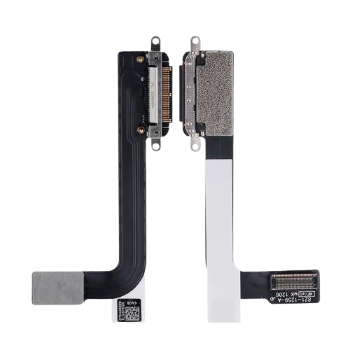 For iPad 3 Charging Port Dock Connector Flex Cable Replacement Black