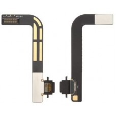 For iPad 4 Charging Port Dock Connector Flex Cable Replacement Black