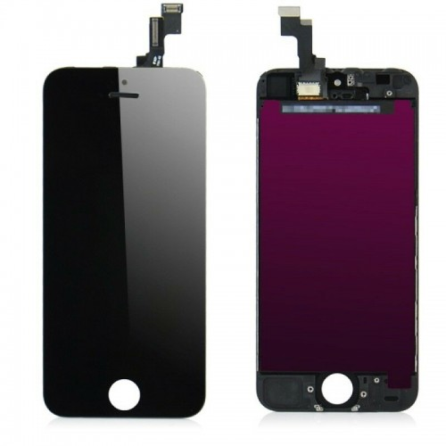 For Apple iPhone SE First Generation/5s LCD Display Touch Screen Digitizer Replacement Black