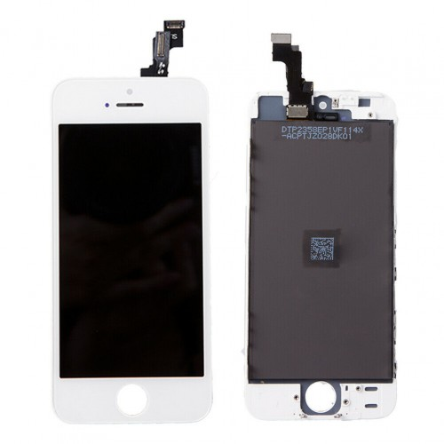 For Apple iPhone SE First Generation/5s LCD Display Touch Screen Digitizer Replacement White