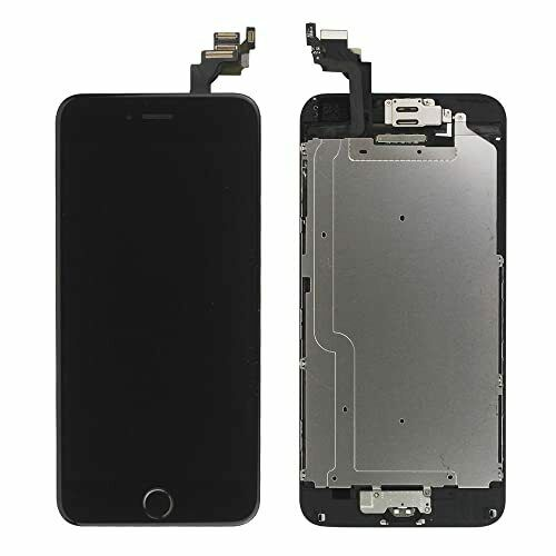 For Apple iPhone 6 LCD Display Touch Screen Digitizer Replacement Black