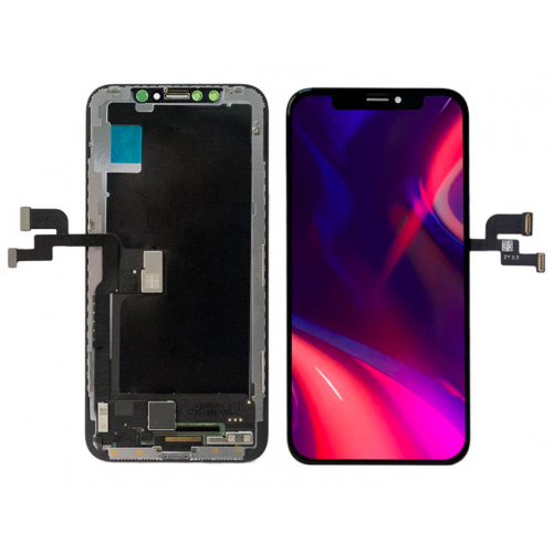 HEX iPhone XS Max AMOLED Display Touch Screen Digitizer Replacement Black
