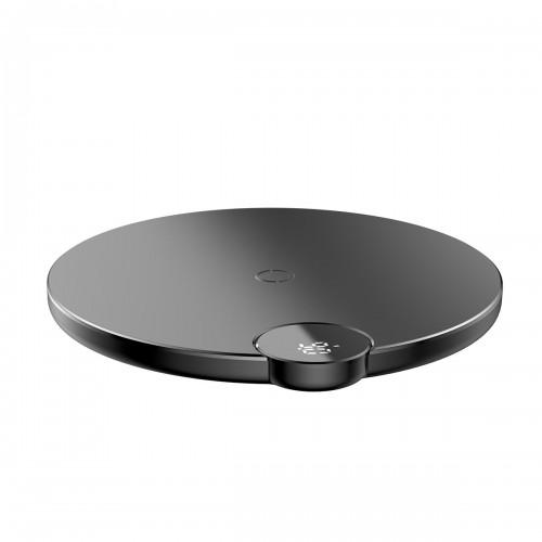 Baseus Digital LED Wireless Fast Charger Black
