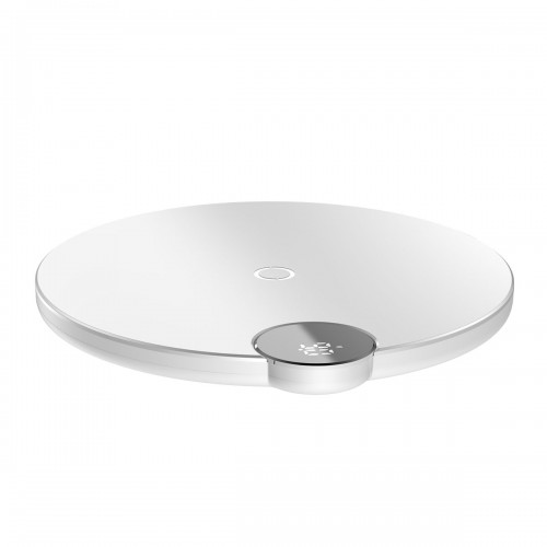 Baseus Digital LED Wireless Fast Charger White