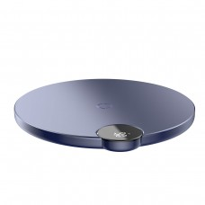 Baseus Digital LED Wireless Fast Charger Blue