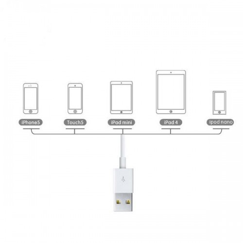 Baseus Cable For iphone 2M White