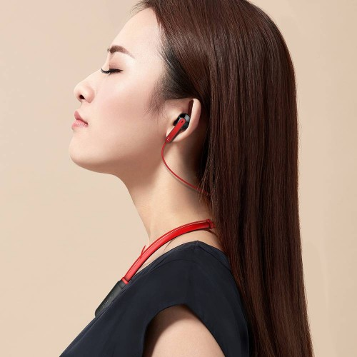 Baseus Encok Neck Hung Bluetooth Earphone S16 Red