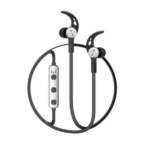 Baseus Licolor Magnet Bluetooth Earphone Silver Black