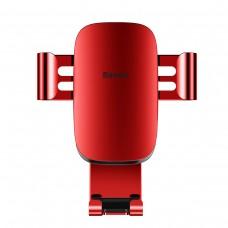 Baseus Metal Age Gravity Car Mount (Air Outlet Version) Red
