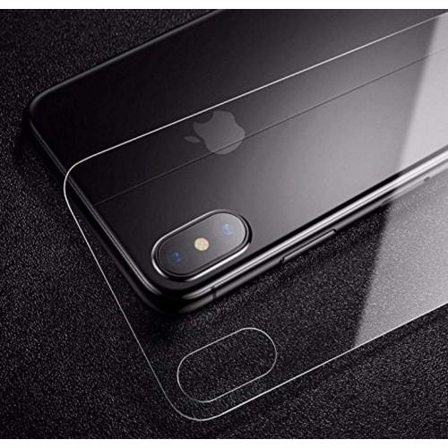 Baseus 0.3mm Full-glass Back Tempered Glass Film For iP X Transparent