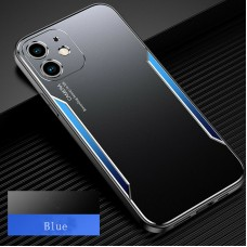 Blade series Metal Case For iPhone 11 Black Blue