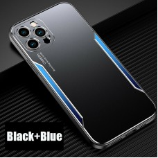 Blade series Metal Case For iPhone 12 Pro 6.1 Black Blue