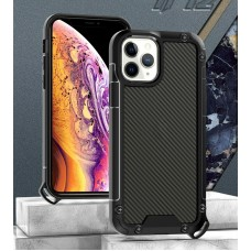 Golden Shield Series Case For iPhone 12 Pro Max 6.7 Black