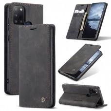 Caseme-013 Magnetic Card Case For Samsung A21S Black