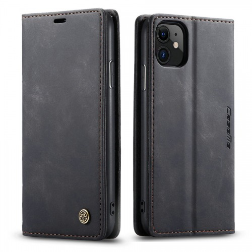 Caseme-013 Magnetic Card Case For Samsung S21 Ultra Black