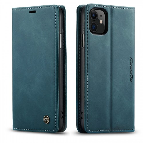 Caseme-013 Magnetic Card Case For Samsung Note 20 Blue