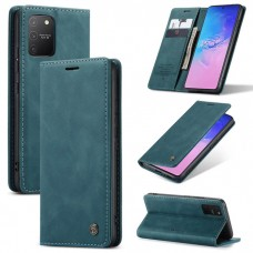 Caseme-013 Magnetic Card Case For Samsung S10 Lite Blue