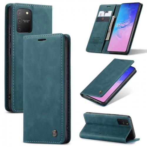 Caseme-013 Magnetic Card Case For Samsung S10 Lite Blue