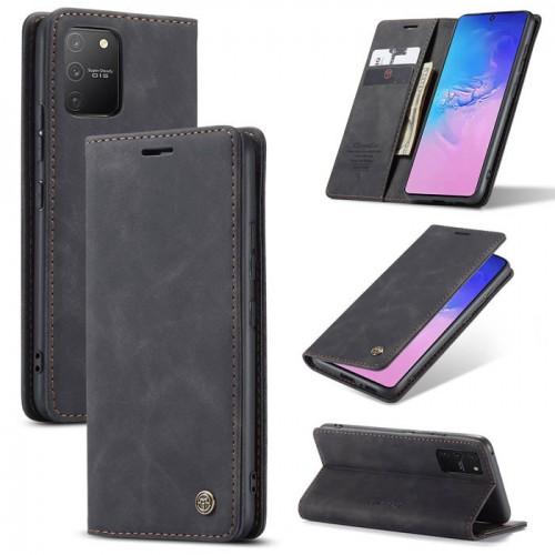Caseme-013 Magnetic Card Case For Samsung S10 Lite Black