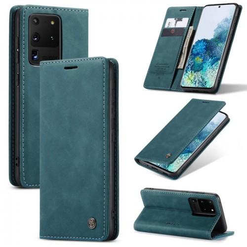 Caseme-013 Magnetic Card Case For Samsung S20 Ultra Blue