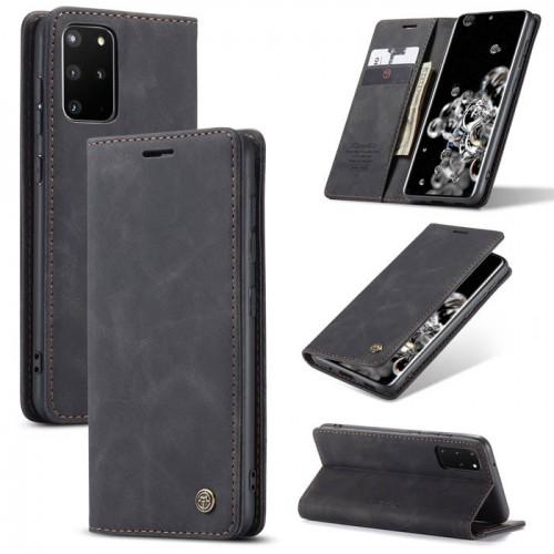 Caseme-013 Magnetic Card Case For Samsung S20 Plus Black