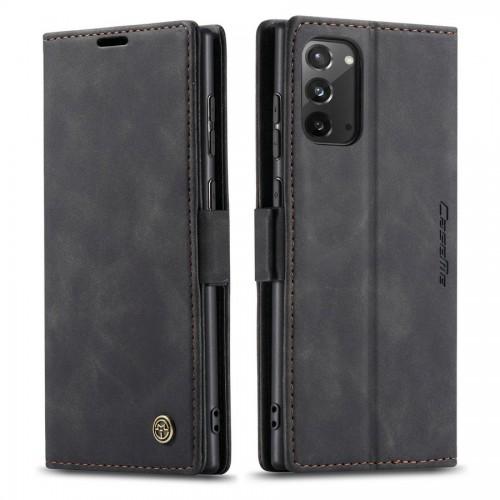 Caseme-013 Magnetic Card Case For Samsung Note 20 Black